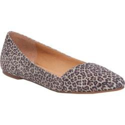 Women's Lucky Brand Archh Flat Brindle Printed Suede