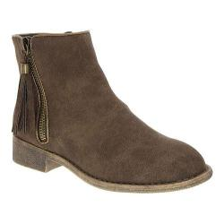 Girls' Nina Puffie Ankle Boot - Big Kid Brown Nubuck