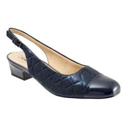 Women's Trotters Dea Navy Quilted