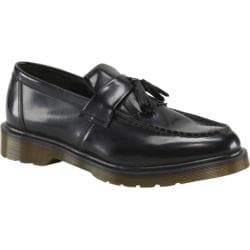 Men's Dr. Martens Adrian Tassel Loafer Black Polished Smooth