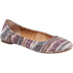 Women's Lucky Brand Emmie Flat Multi Leather