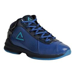 Men's Peak E23131A Basketball Shoe Mid Blue