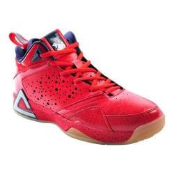 Men's Peak JaVale McGee Basketball Shoe Cherry Bomb/Navy
