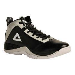 Men's Peak Raid Basketball Shoe Jet Black/Quick Silver