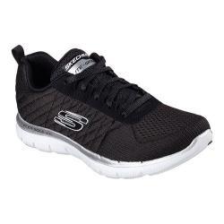 Women's Skechers Flex Appeal 2.0 Break Free Training Shoe Black/White