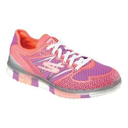 Women's Skechers GO FLEX Walk Momentum Walking Shoe Hot Pink/Purple