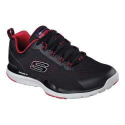 Men's Skechers Quick Shift TR Training Shoe Black/Red 19367611