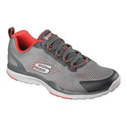 Men's Skechers Quick Shift TR Training Shoe Charcoal/Orange 19367632
