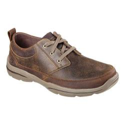 Men's Skechers Relaxed Fit Harper Olney Oxford Brown