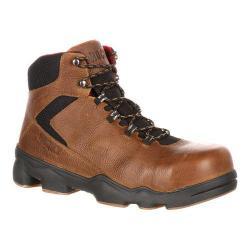 Men's Rocky 6in Mobilite LT Composite Toe Boot Brown Full Grain Leather/Nylon
