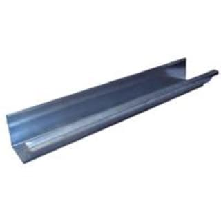 Black Steel Galvanized Gutter