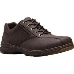 Men's Dr. Martens Greig 5 Eye Shoe Brown Vancouver Split