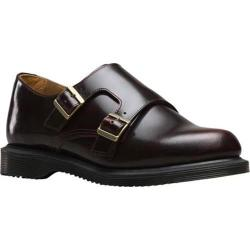 Women's Dr. Martens Pandora Double Monk Strap Cherry Red Arcadia