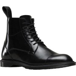 Men's Dr. Martens Winchester 7 Eye Zip Boot Black Polished Smooth