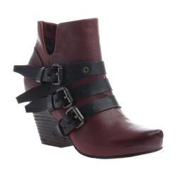 Women's OTBT Lasso Bootie Red Oak Leather