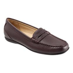 Women's Trotters Staci Moccasin Burgundy Leather