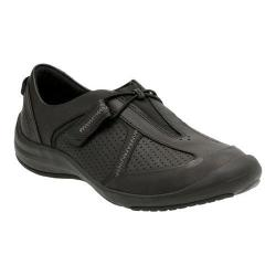 Women's Clarks Asney Slip-on Shoe Black Leather