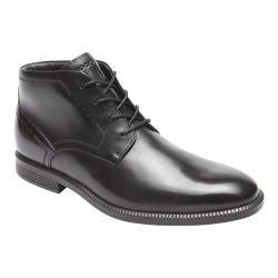 Men's Rockport Dressports Business Chukka Boot Black Leather