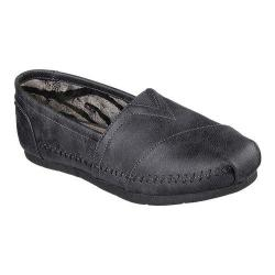 Women's Skechers Luxe BOBS Blue Skies Alpargata Black