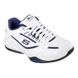 Men's Skechers Monaco TR Training Shoe White/Navy