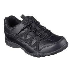 Girls' Skechers Relaxed Fit Breathe Easy Head of Class Sneaker Black