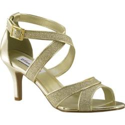 Women's Dyeables Amber Strappy Sandal Gold Glitter
