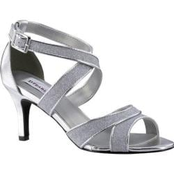 Women's Dyeables Amber Strappy Sandal Silver Glitter