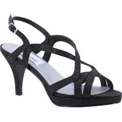 Women's Dyeables Chloe Platform Sandal Black Shimmer