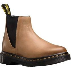 Women's Dr. Martens Bianca Low Shaft Chelsea Boot Brown Antique Milled Brunido
