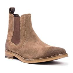 Men's Crevo Denham Chelsea Boot Brown Suede