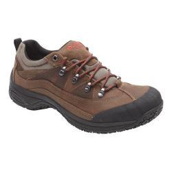 Men's Dunham Cloud Low Waterproof Hiker Brown Leather
