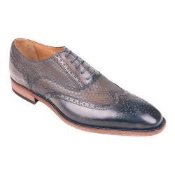 Men's Giovanni Marquez 47988 Wing Tip Oxford Dark Brown Leather