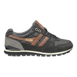 Men's Gola Ridgerunner CC Casual Sneaker Black Canvas