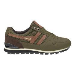 Men's Gola Ridgerunner CC Casual Sneaker Khaki Canvas