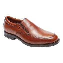 Men's Rockport Essential Details Waterproof Slip On Tan Antique Leather