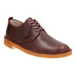 Men's Clarks Desert London Nut Brown Leather
