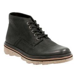Men's Clarks Frelan Hike Ankle Boot Black Leather