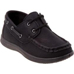 Boys' Josmo 20012 Boat Shoe Black