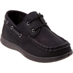 Boys' Josmo 20012 Boat Shoe Black