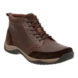 Men's Clarks Baystone Top GORE-TEX Waterproof Ankle Boot Brown Warm Lined Cow Full Grain Leather