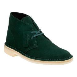 Men's Clarks Desert Boot Dark Green Suede