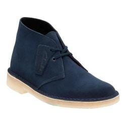 Women's Clarks Desert Boot Dark Navy Suede
