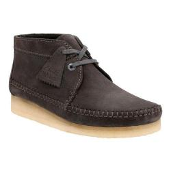 Men's Clarks Weaver Boot Charcoal Suede