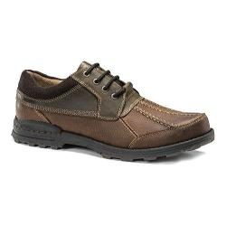 Men's Dockers Gallagher Derby Brown/Briar Oiled Tumbled Full Grain/Crazy Horse