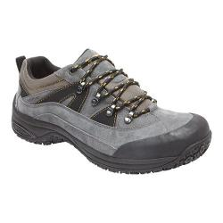 Men's Dunham Cloud Low Waterproof Hiker Grey Leather