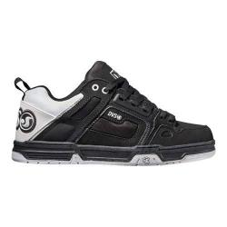 Men's DVS Comanche Black/White/Black Nubuck