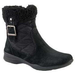 Women's Earth Pinnacle Zip-Up Boot Black Suede