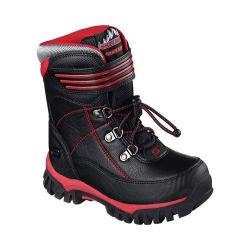 Boys' Skechers Arktic Cold Weather Boot Black/Red