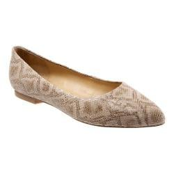 Women's Trotters Estee Nude Snake Leather 19874338