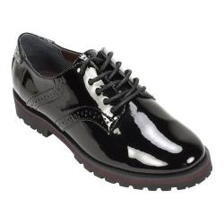 Women's White Mountain Gilly Oxford Black Patent